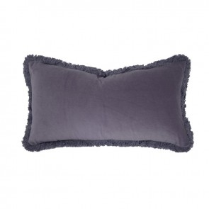 Bambury Velvet Long Cushion - Wisteria