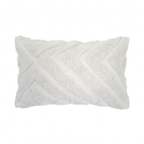 Lynd Cushion by Bambury - Ivory