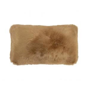 Faux Fur Long Cushion by Bambury - Butterscotch