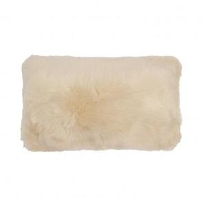 Faux Fur Long Cushion by Bambury - Nougat