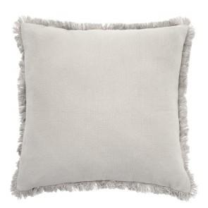 Avoca Square Cushion by Bambury - Pebble