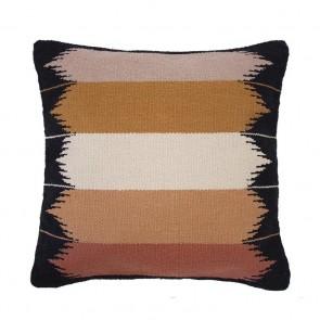 Barwon Cushion by Bambury - Ebony