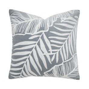 Eden Cushion by Bambury - Steel Blue