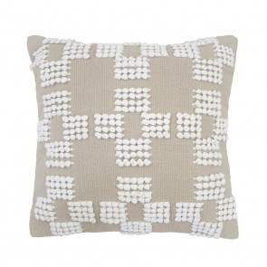 Hastings Cushion by Bambury - Latte