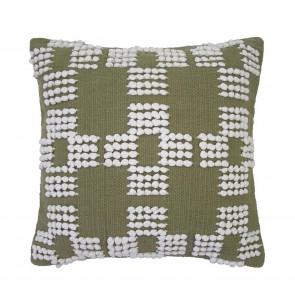 Hastings Cushion by Bambury - Olive