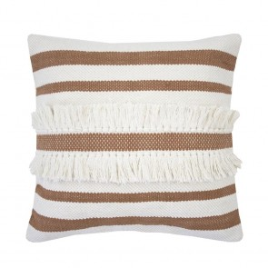 Tully Cushion by Bambury - Bisque
