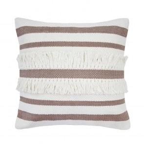 Tully Cushion by Bambury - Elderberry