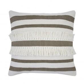 Tully Cushion by Bambury - Moss