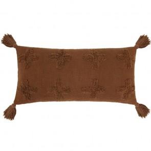 Ada Long Cushion by Bambury - Chilli