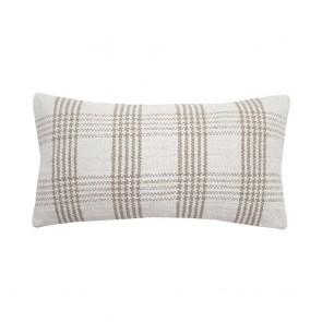 Elliot Cushion by Bambury - Stone