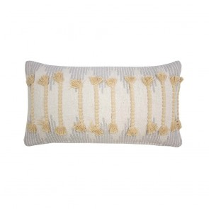 Eradu Cushion by Bambury - Straw