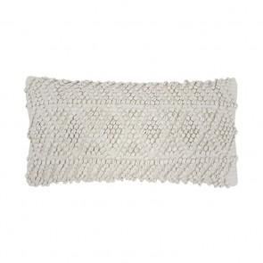 Glenelg Cushion by Bambury - Stone