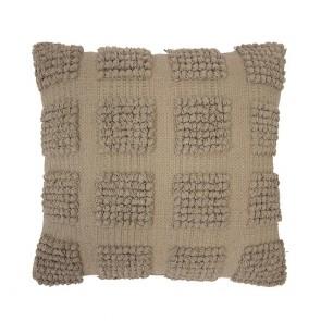 Dawson Cushion by Bambury - Almond