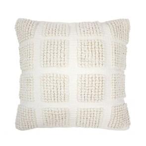 Dawson Cushion by Bambury - Ivory