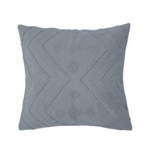 Durack Cushion by Bambury - Steel Blue