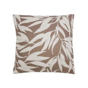 Ironbark Cushion by Bambury - Woodrose