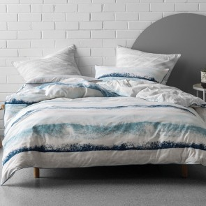 Terrain Duvet Cover Set by Nu Edition - Blue