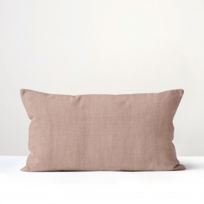 Blush Italian Linen Long Cushion - Made in NZ