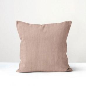 Blush Italian Linen Cushion - Made in NZ