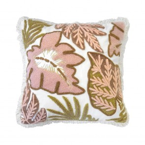 Flores Cushion by Bambury - Sunset