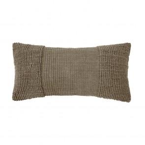 Rhodes Cushion by Bambury - Almond