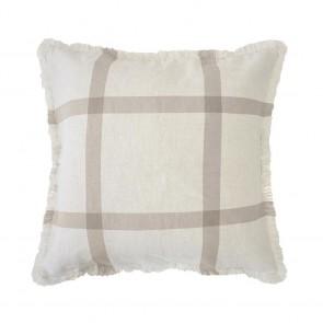 Stewart Cushion by Bambury - Almond