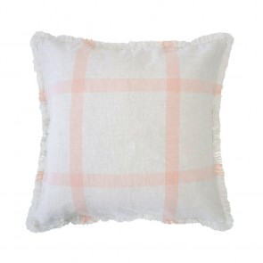 Stewart Cushion by Bambury - Papaya