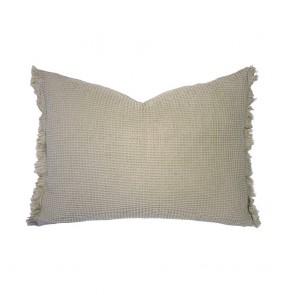 Wanda Cushion by Bambury - Pebble