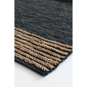 Mulberi Bogota Floor Rug Black/Natural