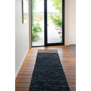 Bogota Black/Natural 80x300cm Floor Runner