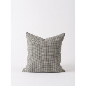 100% Linen Cushion Cover Pepper - 2 Pack