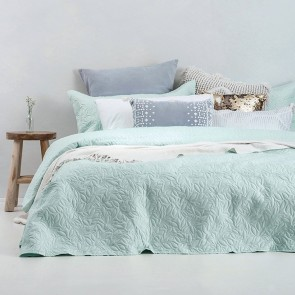 Botanica Coverlet Set by Bambury Glacier