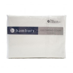 1000 Thread Count Sheet Sets by Bambury - Ivory