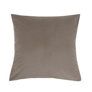 Velvet Euro Pillowcase Each - Almond