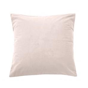 Velvet Euro Pillowcase Each - Pearl