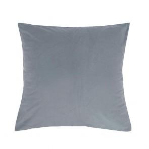 Velvet Euro Pillowcase Each - Steel Blue