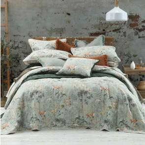 Briar Sage Bedspread Set by MM Linen