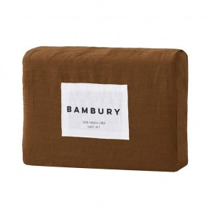 100% French Flax Linen Sheet Sets by Bambury - Hazel