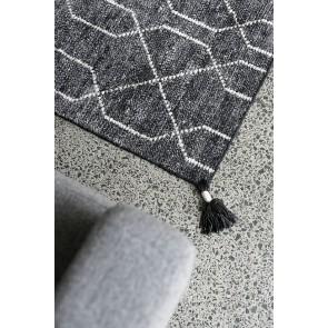 Mulberi Brooks Charcoal Bamboo Silk/Wool Rug