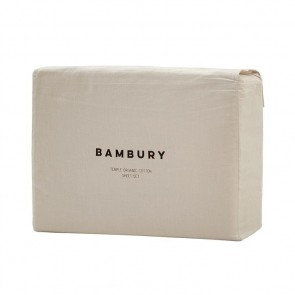 Temple Organic Cotton Sheet Sets by Bambury - Pebble