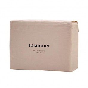 Temple Organic Cotton Sheet Sets by Bambury - Rosewater