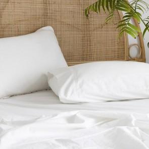 Temple Organic Cotton Sheet Sets by Bambury - Ivory