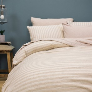 Natural Stripe BedT Duvet Cover Set