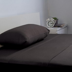 BedT 100% Cotton Sheet Set by Bambury - Black