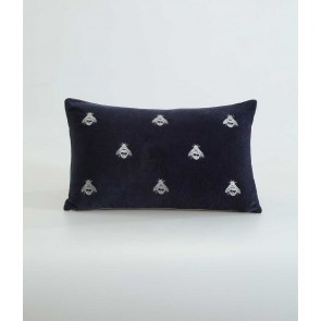 Buzz Long Cushion by MM Linen - Navy