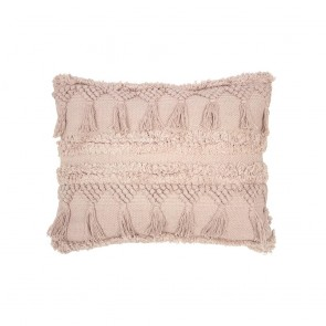 Capel Cushion by Bambury - Shell