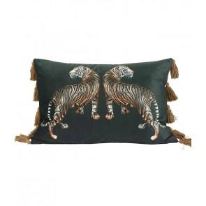Avalana Caspian Jungle Long Cushion by MM Linen