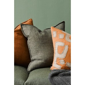 Cassia Cushion by Mulberi - Moss