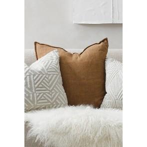 Cassia Cushion by Mulberi - Cumin