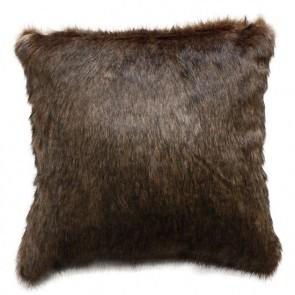 Limon Elmwood Cocoa Bear Cushion